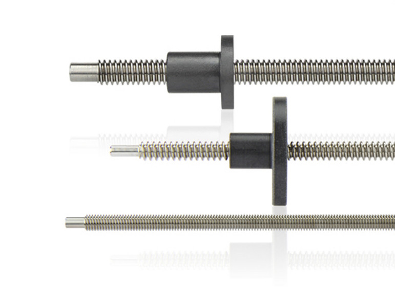Lead screws and threaded nuts