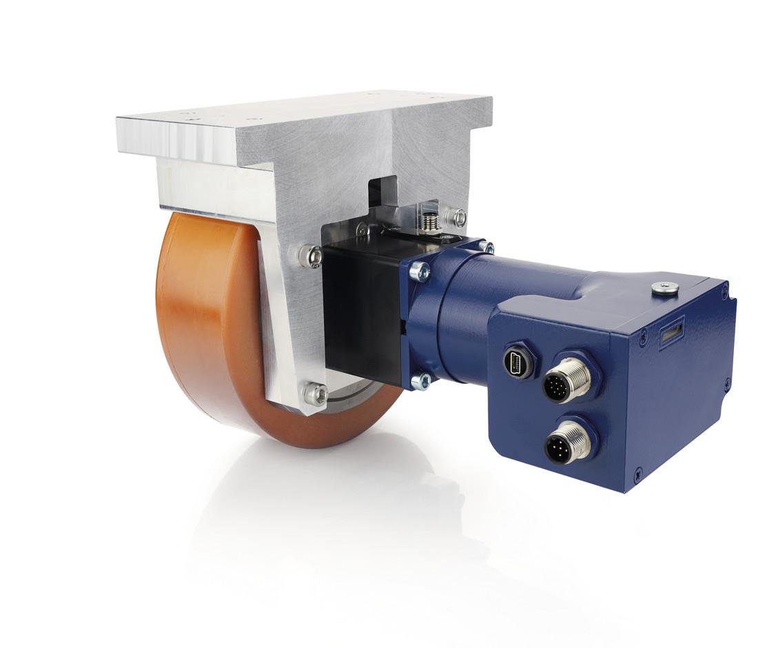 motor brakes with wheel drives - agv fts service robotics