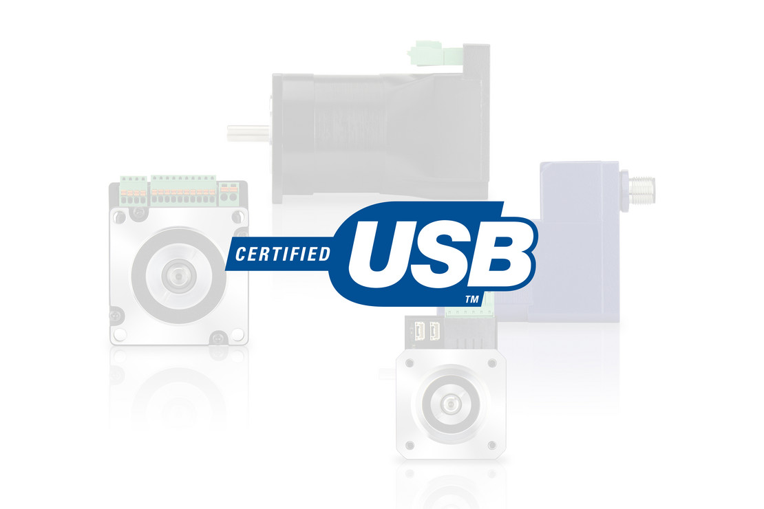 stepper & brushless dc motor with usb