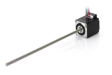 nema 11 external linear actuator with rotating screw (driven screw)
